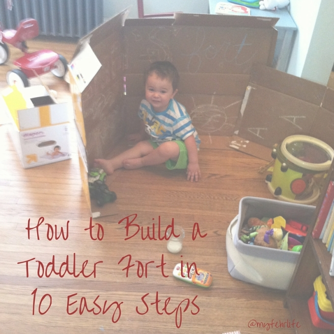 How to Build a Toddler Fort in 10 Easy Steps